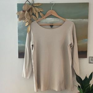 Eileen Fisher tunic blouse, Small